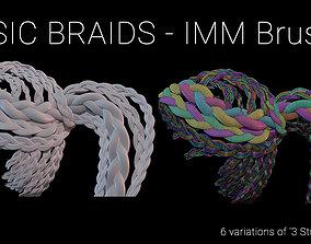 Basic Braids IMM Brush 3D