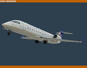 3D asset CRJ200 United