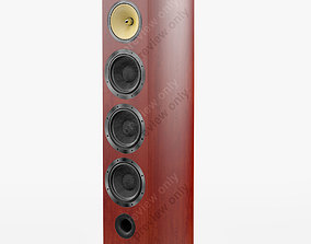 Bowers and Wilkins 803 D2 Rosenut 3D model