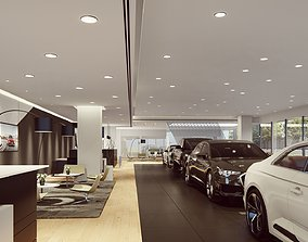 3D Lumion 10 Project File - Audi Dealership Interior and