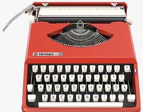 3D model Hermes Baby Typewriter