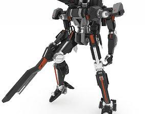Robot HT 001 Heavy Mode 3D model