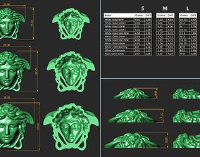 3D printable model Versace Medusa head Pack