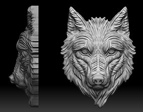 3D print model Wolf is not angry pendant Mikimoto