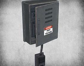 3D model Electric Fusebox
