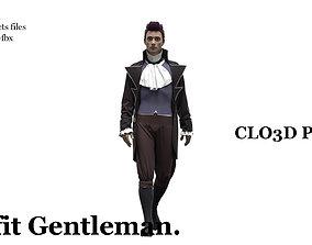 Outfit Gentleman 3D model
