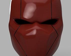 Red Hood Helmet Batman Version 2 3D print model