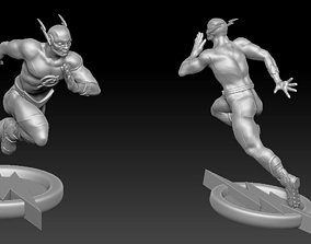 The Flash 3D print model Free 3D print model