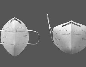 3D model Dust Mask quarantine