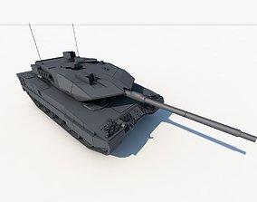 3D asset leopard 2a7