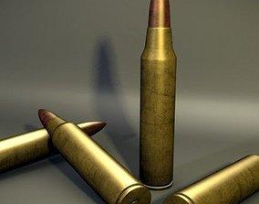 3D model ammo Bullet