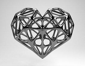 3D model heart medical