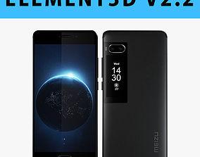 E3D - Meizu Pro 7 Black 3D model