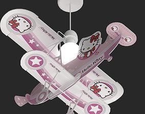 3D Baby piloto Hello Kitty 2019