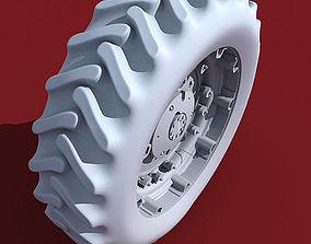 3D Truck Tractor Tyre
