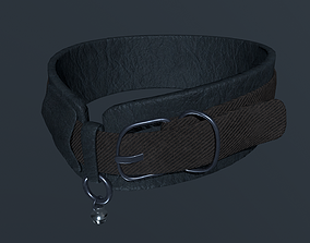 leather collar 3D model