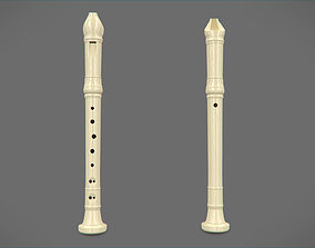 3D model Plastic Flute