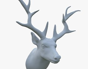 scarecrow deer head 3D model