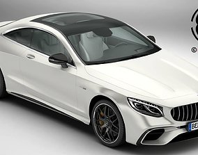 Mercedes S Class Coupe AMG S63 2018 3D