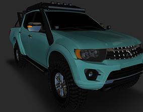 3D model Mitsubishi Sportero L200 Ecotechne