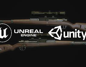 Mauser Karabiner 98k 3D asset