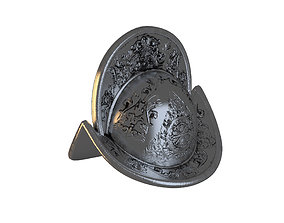 3D model Ancient Metal Helmet