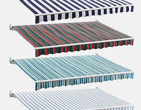 Awnings Striped Set 3D