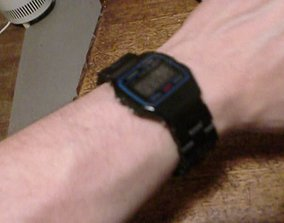3D printable model Wrist watch strap