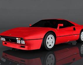 3D asset 1984 Ferrari GTO