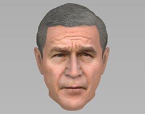 3D model George W Bush
