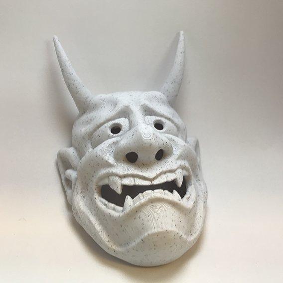Oni Mask 3D Print