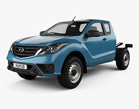 Mazda BT-50 Freestyle Cab Chassis 2018 3D