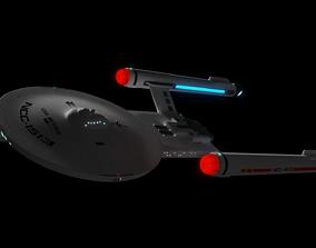 Arcturus Class Cruiser 3D PBR