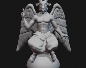 Baphomet 3D print model