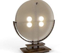 Asian Influenced Desk Lamp 3D model
