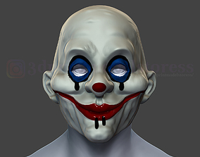 3D print model Henchmen Dark Knight Clown Joker Mask 1