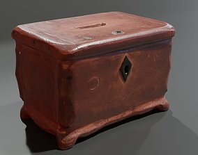 3D model Wooden Money Jewellery Box