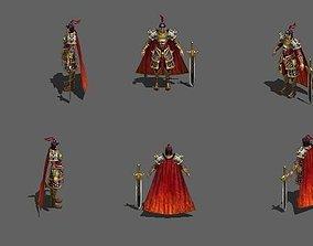 Ancient generals 3D asset