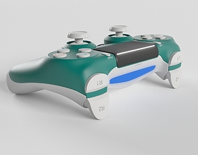 3D model Sony PlayStation 4 DualShock Controller Alpine 1