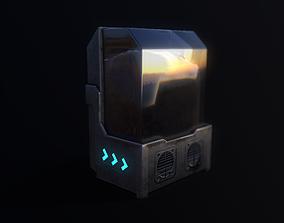 3D asset Sci-fi Water tank