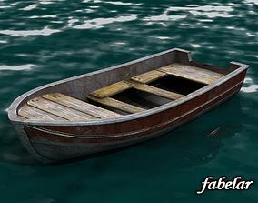 3D model Fishing Boat