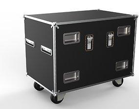 case slants 3d model flightcase