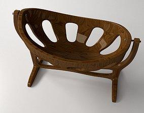 3D model WoodenCrib