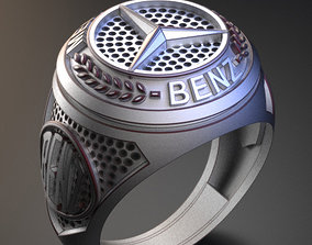 Mercedes-Benz wedding 3D printable model