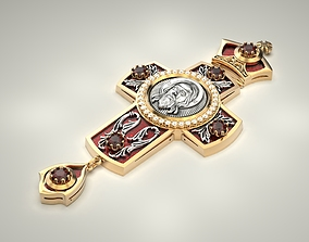 3D printable model Priest Cross 2