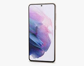 Samsung Galaxy S21 5G Phantom Violet 3D model
