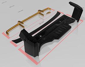 Silvia and Skyline bumperless RC 3D printable model