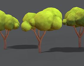 Simple Tree Pack 3D asset
