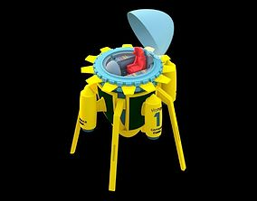 Dragon ball time machine anime 3D print model