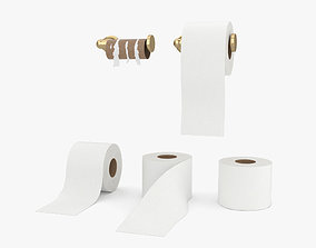Toilet Paper 3D model furniture